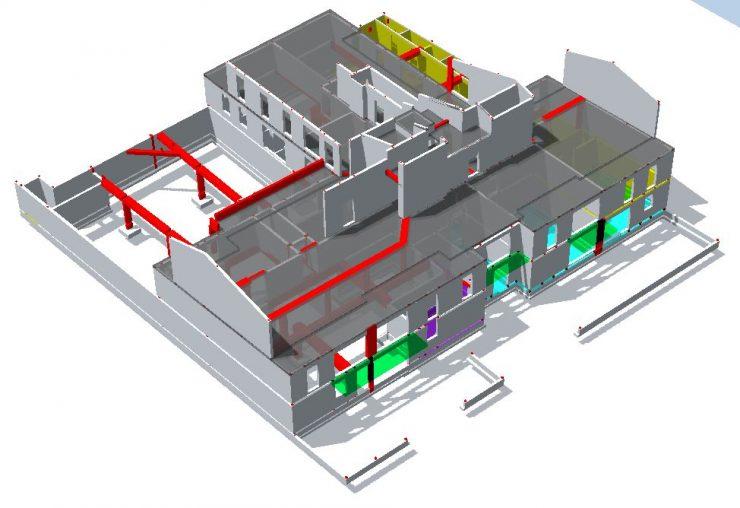 3D L'ECRIVAIN Allplan